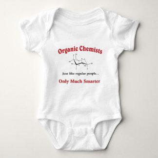 Organic Chemists just like regular people Baby Bodysuit