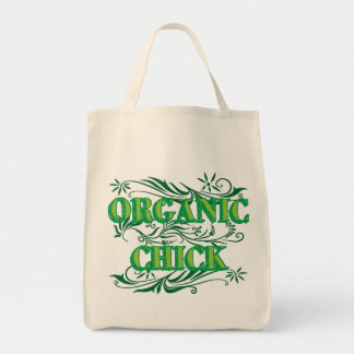 Organic Chick Tote Bag