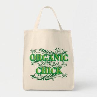 Organic Chick Tote Bag