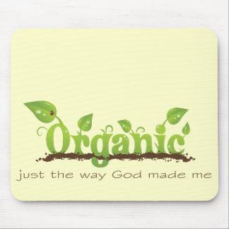 Organic Christian mousepad