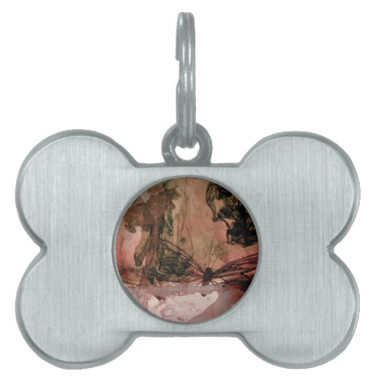 """Organic"" collection Pet ID Tag"