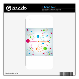 Organic Connections Chart Skin For The iPhone 4S