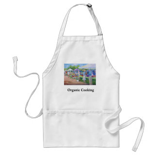 Organic Cookiing Adult Apron