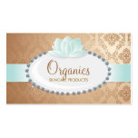 Organic Cosmetics Business Cards
