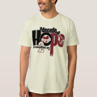 Organic Decade of Hope Unisex T T Shirt