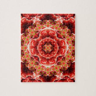 Organic Dimension Mandala Jigsaw Puzzle