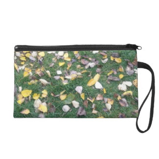 Organic Dried Leaves, Wristlet