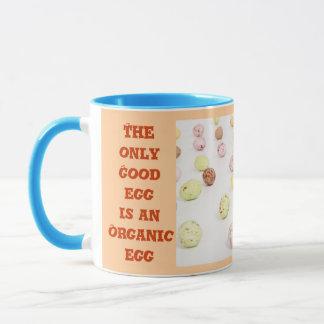 Organic egg mug