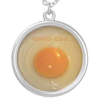 Organic Egg necklace