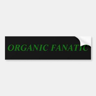 ORGANIC FANATIC BUMPER STICKER