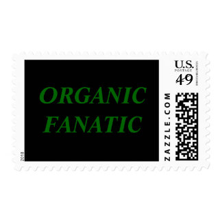 ORGANIC FANATIC POSTAGE STAMPS