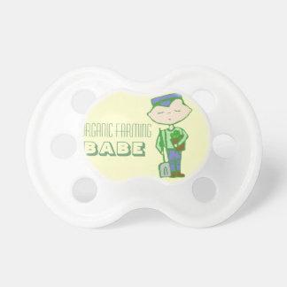 Organic farming babe pacifier