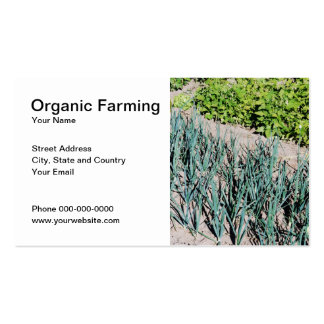 Organic Farming Business Card Business Card Templates