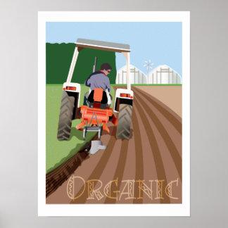Organic Farming Poster