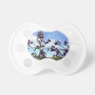 organic flowers pacifier