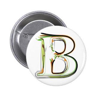 Organic Font illustration Button
