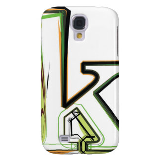 Organic Font illustration Galaxy S4 Cover