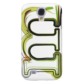 Organic Font illustration Galaxy S4 Covers