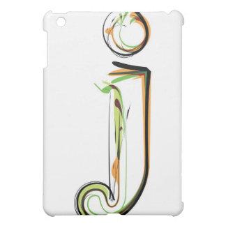Organic Font illustration iPad Mini Cover