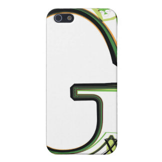 Organic Font illustration iPhone 5 Cases