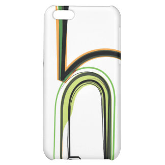 Organic Font illustration iPhone 5C Cover