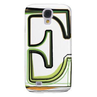 Organic Font illustration Samsung Galaxy S4 Case