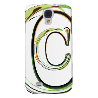 Organic Font illustration Samsung Galaxy S4 Cover