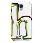 Organic Font illustration Samsung Galaxy S4 Cover