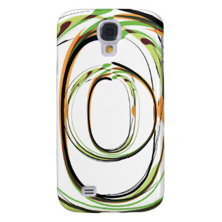 Organic Font illustration Samsung Galaxy S4 Covers