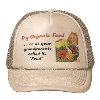 Organic Food Hats