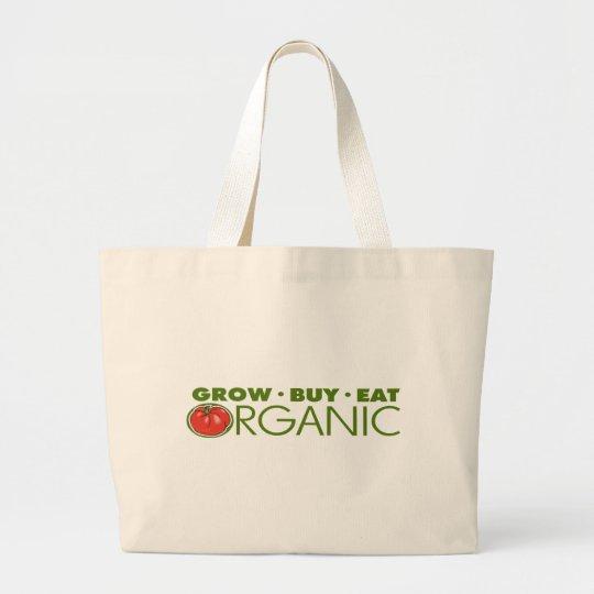 Organic Food Large Tote Bag