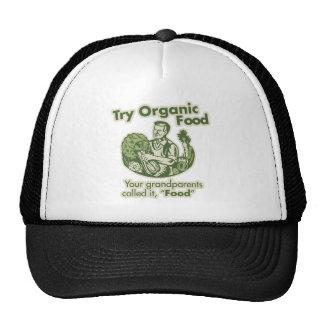 Organic Food Mesh Hat