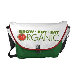 Organic Food Messenger Bag