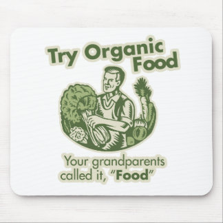 Organic Food Mousepad