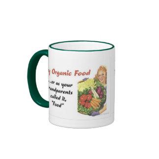Organic Food Mug