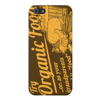 "Organic Food - your grandparents called it ""food"" iPhone 5 Cases"