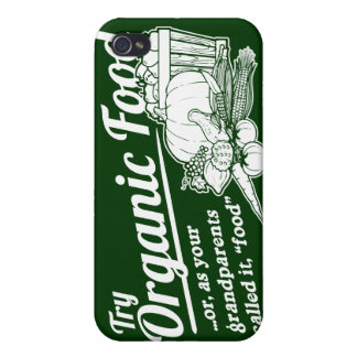 "Organic Food - your grandparents called it ""food"" iPhone 4/4S Case"