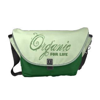 Organic for Life Messenger Bag