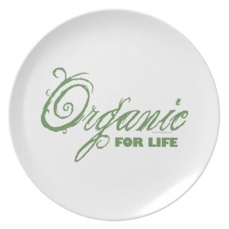Organic for Life Party Plates