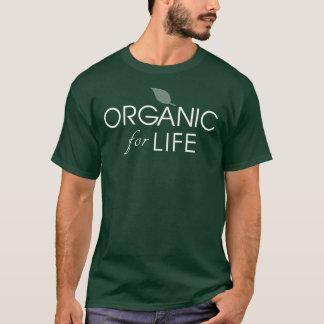Organic For Life Shirt - Vegetarian, Vegan, Raw