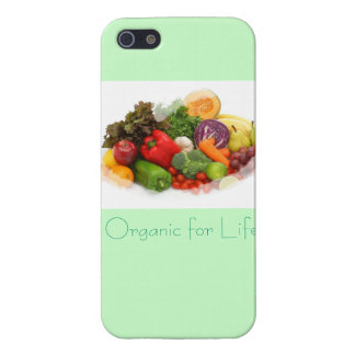 Organic for Life Veggies on an Iphone 5Case iPhone 5 Cases