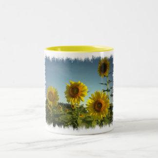 Organic Garden Sunflower Coffee Mug