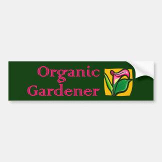 Organic Gardener - Calla Lilies Bumper Sticker