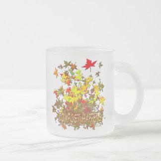 Organic Gardener Frosted Glass Coffee Mug