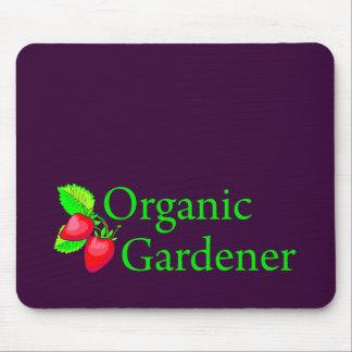 Organic Gardener - Strawberries Mouse Pad
