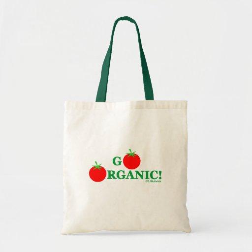 Organic Gardening Grocery Tote Bag