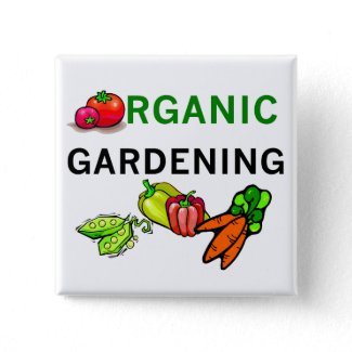 Organic Gardening T-shirts and Gifts button
