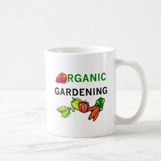 Organic Gardening T-shirts and Gifts Classic White Coffee Mug