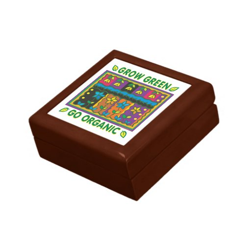 Organic Gardening Trinket Boxes