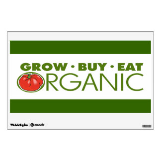 Organic Gardening Wall Decal